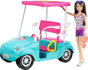 Barbie Schwestern Golfwagen ab 3 Jahren 57004926