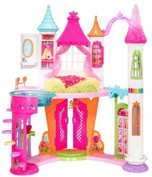 Barbie Bonbon Königreich-Schloss Dreamtopia, mit viel Zubehör und Möbeln, ab 3 Jahren 57019032
