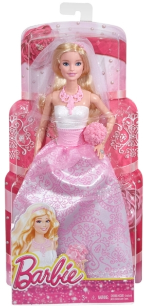 Barbie Braut modernes Outfit mit Accessoires, ab 3 Jahren 57019037