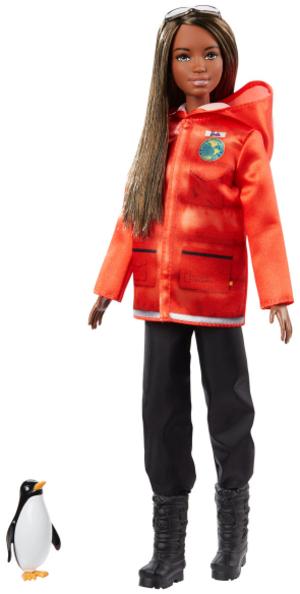 Barbie Polarforscherin Puppe mit Zubehör, ab 3+