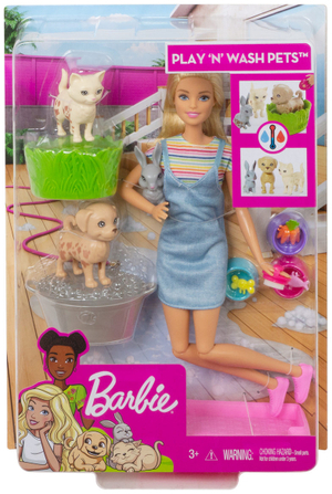Puppen mit Spielset