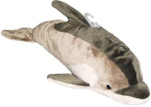 Nicotoy Delfin, Plüsch 31 cm, grau 58256054