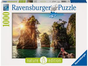 Ravensburger Puzzle Three rocks Thailand 1000 Teile, Nature Edition, 70x50 cm, ab 14+ 60013968