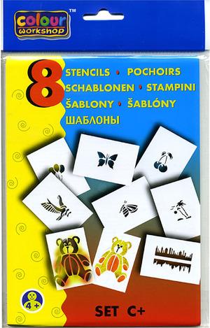Blopens Schablonen Set C 8 Schablonen A5, ab 4 Jahren 60300997