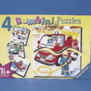 Ravensburger Puzzle Bambini, Rettungs- 60370107
