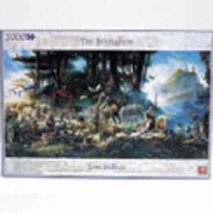 Jumbo Puzzle Die Einladung 2000 Teile, Tom du Bois 3915502