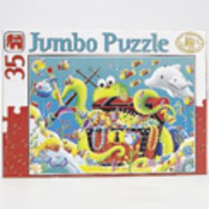 Puzzle Fröhliche Tierwelt 60400768
