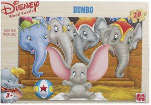 Jumbo Puzzle Holz Disney's Classic 4 x 20 Teile Jumbo;1047
