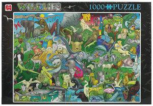 Jumbo Puzzle Wildnis, 1000 Teile 2037A1