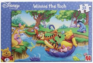 Jumbo Puzzle 35 Teile Winnie Pooh 4 Motive sortiert, ausgelegt: 31x22cm, 2142