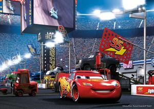 Jumbo Puzzle Pixar Cars Superchar- ged, 4 Motive mit 50 Teilen, ab 4 Jahren, 31x22 cm 12015