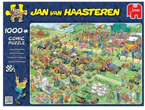 Jumbo Puzzle Rasenmäherrennen 1000 Teile, 68x49 cm, Jan van Haasteren 60419021