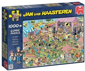 Jumbo Puzzle Pop-Festival 1000 Teile, ab 12 Jahren, Puzzle ausgelegt 68x49 cm 60419028