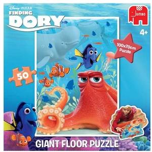 Jumbo Bodenpuzzle Finding Dory 50 Teile, ab 4 Jahren, Puzzle ausgelegt 100x70 cm 60419370