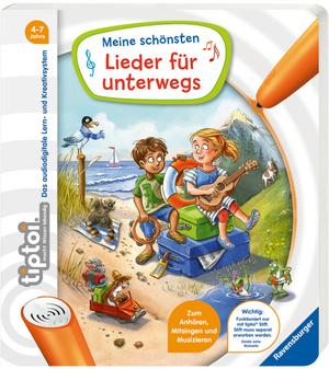 Ravensburger Tiptoi Lieder für Unterwegs Stift exkl. zum mitsingen, hören und musizieren, ab 4+