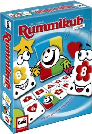 Carlit Rummikub Junior, d/f/i von 4-7 Jahren, 2-4 Spieler, Lernspiel, Zahlenwert 1-10 60500205