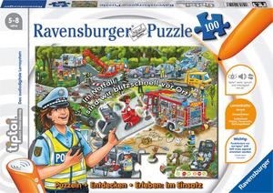 Ravensburger Tiptoi Puzzle Im Einsatz, d 100 Teile, ab 5-8 Jahren, Stift nicht enthalten 5543