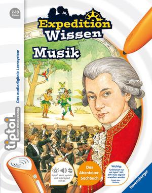 Ravensburger Tiptoi Wissen, Musik 7-10 Jahre, 32 Seiten, Stift nicht enthalten 6168A1