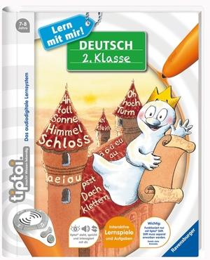 Ravensburger Tiptoi Deutsch 2.Klasse, d 7-8 Jahre, 40 Seiten, Stift nicht enthalten 60500664