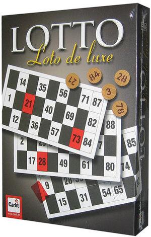 Carlit Zahlenlotto de Luxe, d/f/i ab 6 Jahren, 2-8 Spieler, mit 72 Lottokarten 60502301