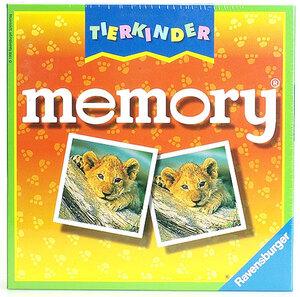 Ravensburger Memory Tierkinder, d/f/i ab 4 Jahren, 2-8 Spieler, Spieldauer 20-30 Min. 21275