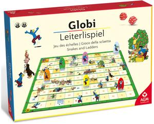 Globi Leiterlispiel Globi, d/f/i Bauernhof, 2-6 Spieler, ab 5 Jahren