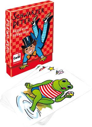 Carlit Schwarzer Peter, d/f/i ab 4 Jahren, 2-6 Spieler, lustiges Kartenspiel 60510135