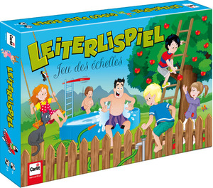 Carlit Leiterlispiel, d/f/i ab 5 Jahren, 2-5 Spieler, Doppelseitig Sommer/Winter 60510144