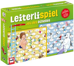 Carlit Leiterlisspiel, d/f/i ab 5 Jahren, 2-5 Spieler, Spielplan 2-seitig 60510151