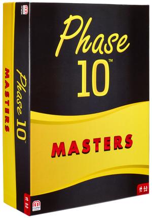 Mattel Phase 10 Masters Kartenspiel d, ab 7 Jahren, 2-6 Spieler, die Herausforderung 60518034