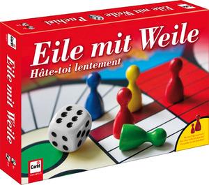 Carlit Eile mit Weile, d/f/i ab 6 Jahren, 2-6 Spieler, Doppelseitig 4 od. 6 Spieler 60520142