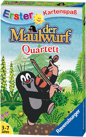 Ravensburger Quartett Der Maulwurf, d 3-7 Jahre, 3-6 Spieler, 32 Karten 204359
