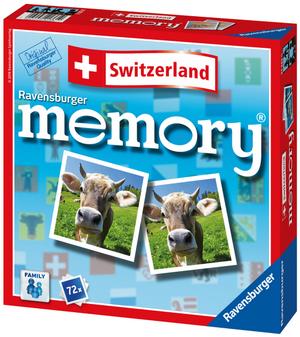 Ravensburger Memory Switzerland, d/f/i ab 5 Jahren, 72 Karten 60521361