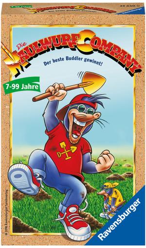 Ravensburger Die Maulwurf Company, d ab 7 Jahren, ab 2-4 Spieler, Mitbringspiel 60523440
