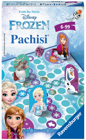 Ravensburger Pachisi Frozen, d/f/i ab 6 Jahren, 2-4 Spieler, Mitbringspiel 60523448