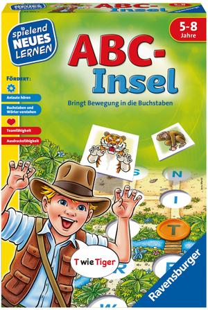 Ravensburger ABC-Insel, d ab 5 Jahren, 2-4 Spieler, Buchstaben-Lernspiel 60524952