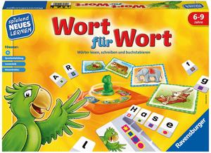 Ravensburger Wort für Wort, d spielend lernen, ab 6 Jahren 60524955