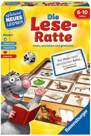 Ravensburger Die Lese-Ratte, d spielend lernen, ab 6 Jahren 60524956