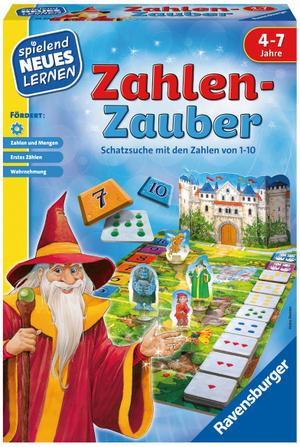 Ravensburger Zahlen-Zauber, d spielend lernen, ab 4 Jahren 60524964