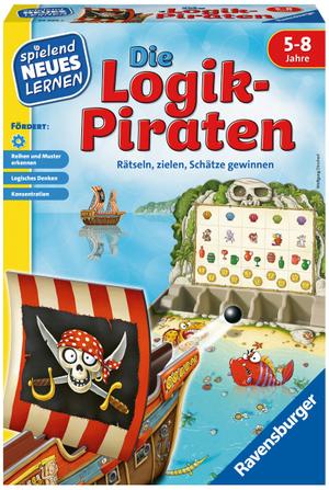 Ravensburger Die Logikpiraten, d ab 5 Jahren, 1-4 Spieler, spielend lernen 60524969