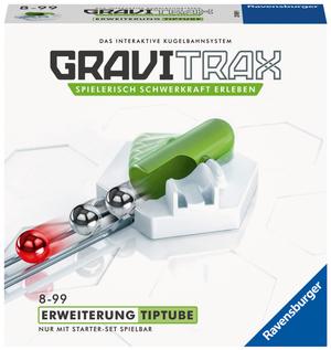 Ravensburger GraviTrax Tip Tube, d/f/i Erweiterung zu Kugelbahn Bausystem, ab 8+ 60527618
