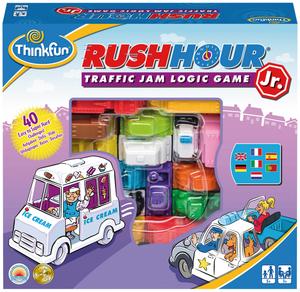 Ravensburger Rush Hour Junior, d/f/i ab 5 Jahren, 1 Spieler, 40 Karten in 4 Stufen 60576337