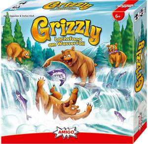 AMIGO Grizzly, d ab 6 Jahren, 2-4 Spieler, Spieldauer 20 Min.