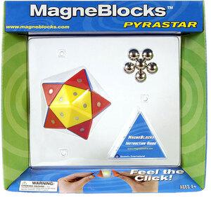 Magneblocks Pyrastar rot/bl. 60800019