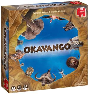 Jumbo Okavango ab 10 Jahren, 2-4 Spieler, Spieldauer ca. 45 Min. 60919702