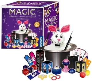 KOSMOS Zauberhut Magic, d/f/i 35 Zaubertricks mit Hut und Kanninchen, ab 6+ 680367