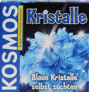 KOSMOS Kristalle züchten blau, d Experimentierkasten, ab 10 Jahren 61070028