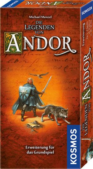 Die Legenden von Andor Erw- eiterungsspiel, spielbar nur mit dem Grundspiel, ab 10 J. 691936