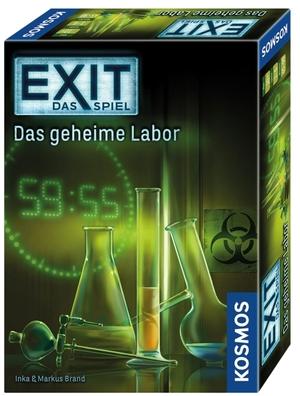 KOSMOS EXIT - Das Spiel: Das geheime Labor (Kennerspiel des Jahres 2017) 692742