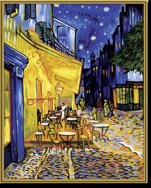 SCHIPPER Arts & Crafts Malen nach Zahlen - Nachtcafé 609130359